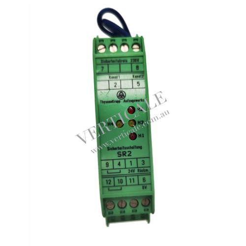 thyssenkrupp Door Relay Module - Sicherheitsschaltung SR2