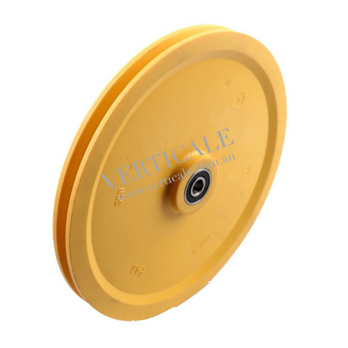 Schindler Governor Tension Pulley - 250 x 20mm 6201