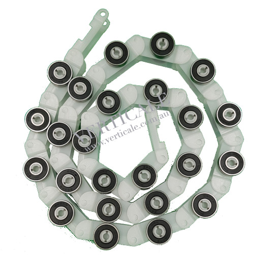 KONE Newel Roller Chain -  25 pitches/roller pairs