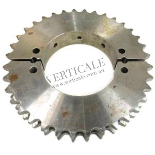 Schindler Sprocket - Split - Bull Gear - 36-teeth STK437464