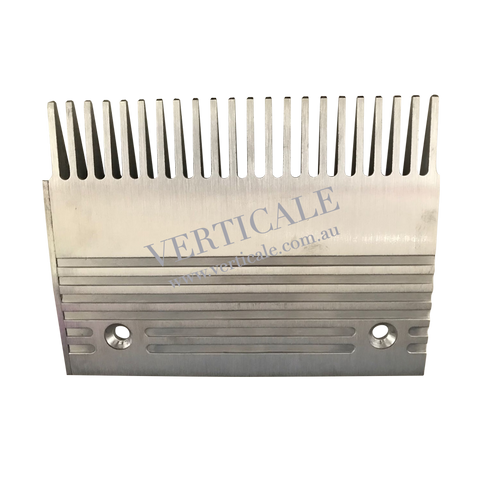 SJEC escalator Aluminium Comb Plate (Left) - 200 x 150mm 22 Teeth
