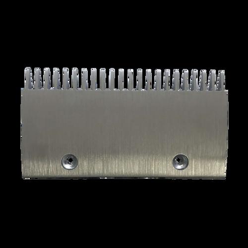 thyssenkrupp escalator FT840/845 Aluminium Comb Plate - 207 x 111mm 22 Teeth 4090160000
