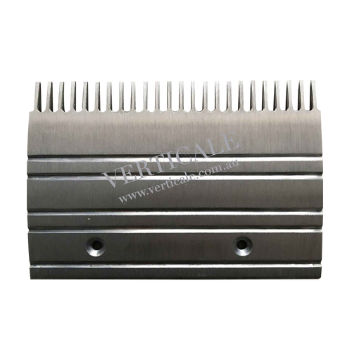 Otis escalator Aluminium Comb Plate (Center) - 203 x 140mm 24 Teeth GAA453BM1