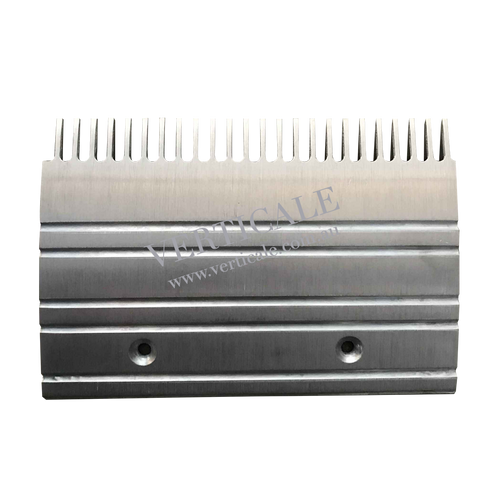 Otis 506 escalator Aluminium Comb Plate (Left) - 203 x 140mm 24 Teeth