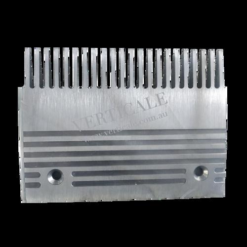 SJEC Moving Walk Aluminium Comb Plate (Left) - 203 x 150mm