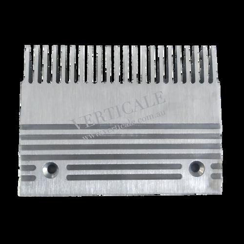 SJEC Moving Walk Aluminium Comb Plate (Center) - 200 x 150mm