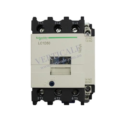 Schneider TeSys D Contactor - LC1D50