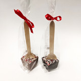 Wooden Spoon Peppermint Cocoa Stirrer