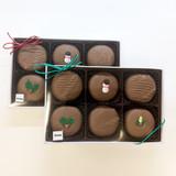 Decorated Holiday Oreos