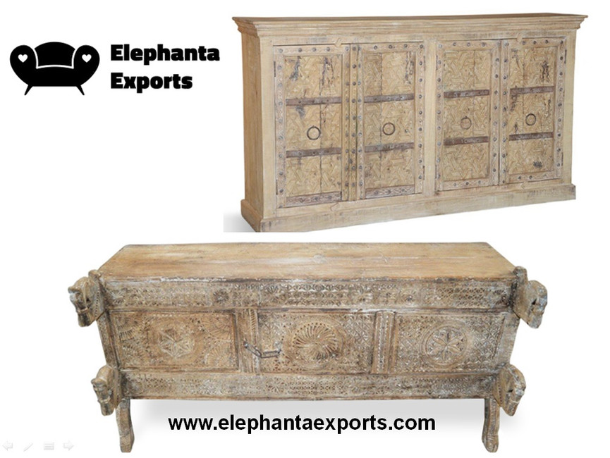 Where to Buy Vintage Traditional Indian Furniture in Rajasthan India