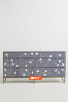 Lily Chest of 6 Drawers in Navy Blue
