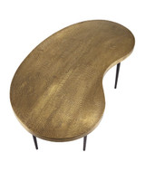 Brass Abstract Coffee Table