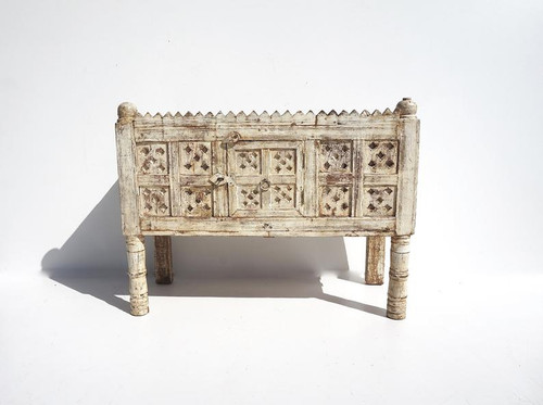 Vintage Reclaimed Indian Dhamchiya Hope Chest