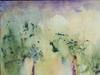 The Light Acrylic on panel  16 x 20 detail 1