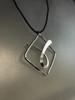 Framed Ribbon Pendant