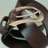 Work Horse Buckle for 1.5 inch belts in solid bronze
