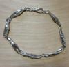 7 link crab claw bracelet