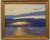 Cedar Key Sunrise 16x20 oil on panel