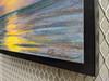 Fernandina Sunrise location painting 9 x 12 on paper on wood panel