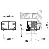 Diagram - Steel Cabinet and Furniture Leveler - replacementtablelegs.com