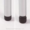Slim Table Leg ABS plastic adjustable foot