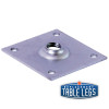 Mounting bracket for Heavy Duty Flared 6'' Equipment Leg - replacementtablelegs.com