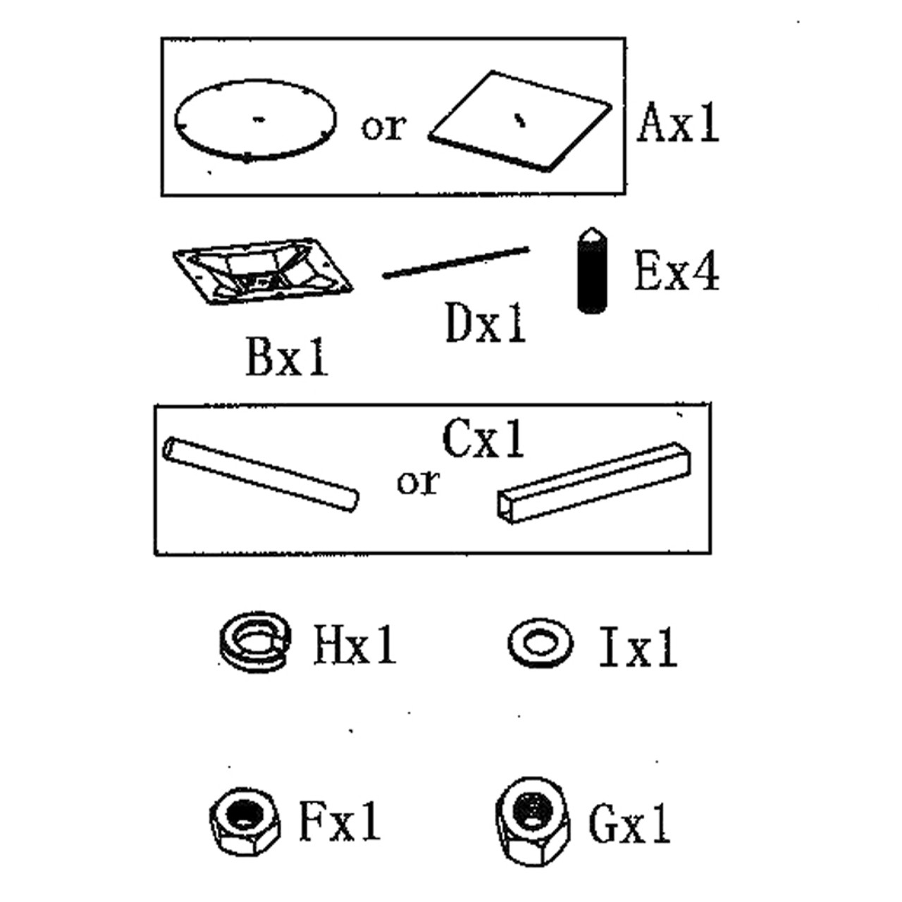 Materials for attachment
