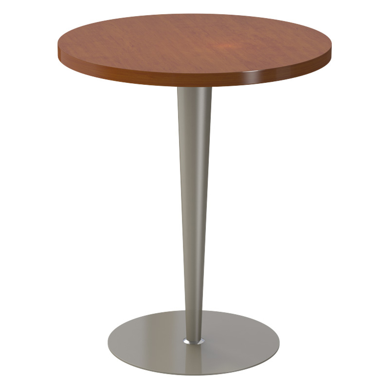 "Tapered Pedestal Base, 27-3/4"" Height, 18"" Base Diameter, 4""-2"" diameter Column, Tabletop not included - Replacementtablelegs.com"