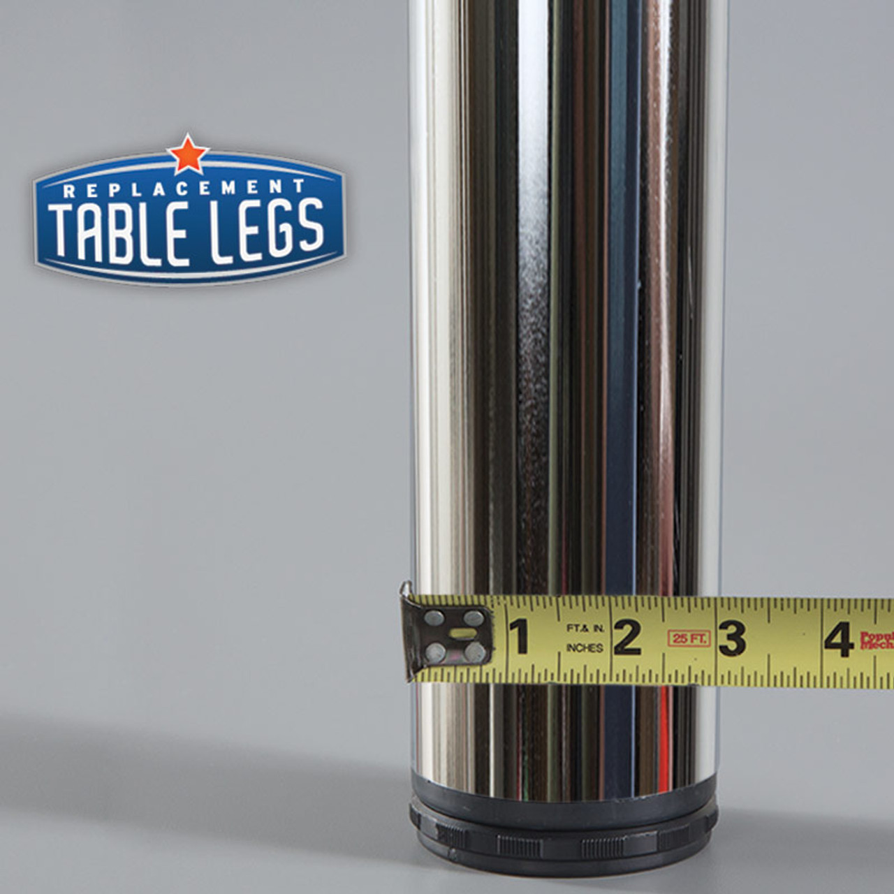 "3"" diameter column - replacementtablelegs.com"