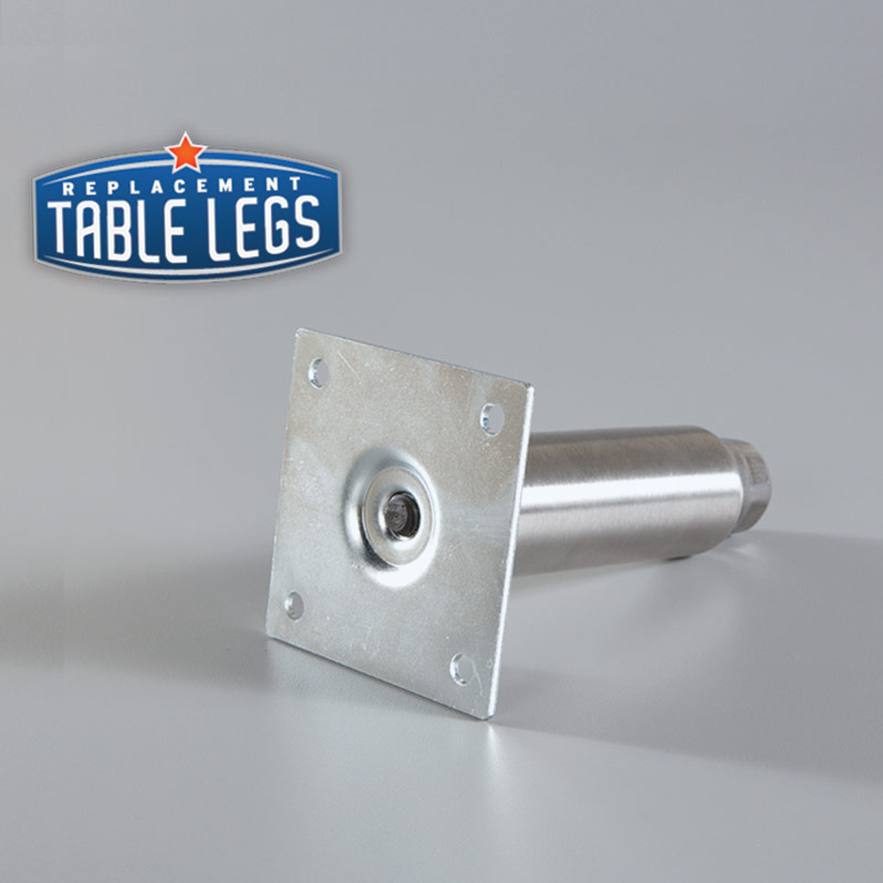 Assembled Mounting Bracket and Heavy Duty Equipment Leg  - replacementtablelegs.com