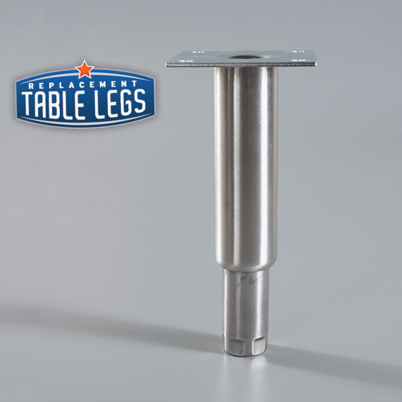 Heavy Duty Equipment Leg with foot extended - replacementtablelegs.com