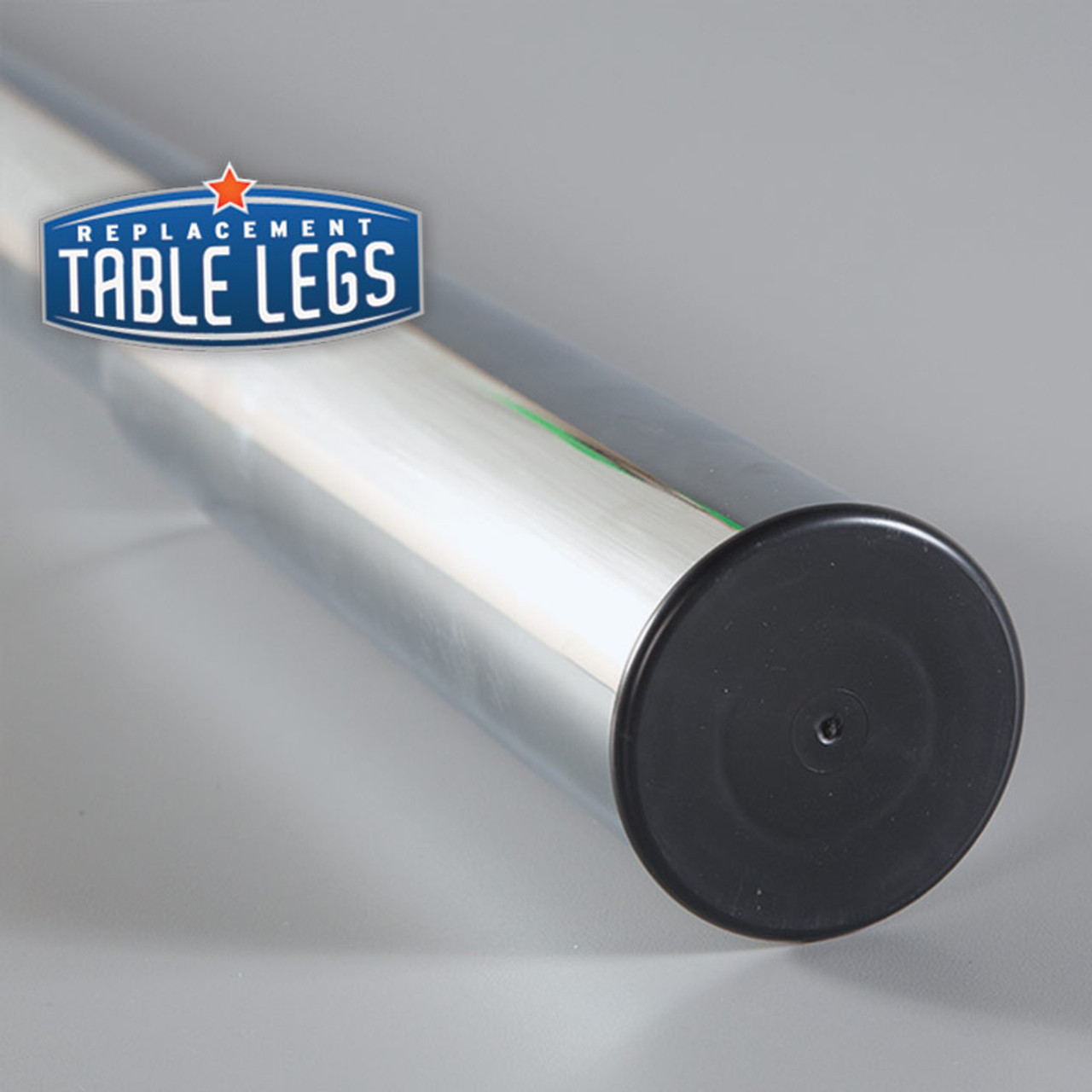 Studio Telescoping Table Leg foot cover detail - replacementtablelegs.com