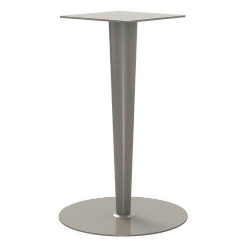 "Tapered Pedestal Base, 40-3/4"" Height, 18"" Base Diameter, 5"" to 2-1/4"" diameter Column - Replacementtablelegs.com"