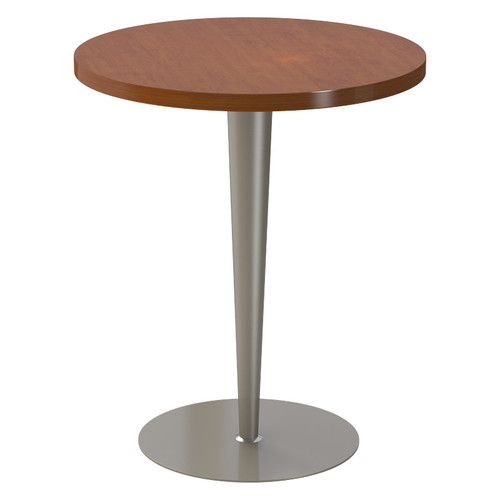 "Tapered Pedestal Base, 40-3/4"" Height, 18"" Base Diameter, 5"" to 2-1/4"" diameter Column, Tabletop not included - Replacementtablelegs.com"