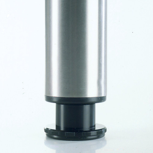 Heidelberg Table Leg, 1-1/8'' adjustable foot - replacementtablelegs.com
