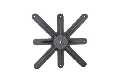 Table Base Spider Connector 24 Inch Cast Iron