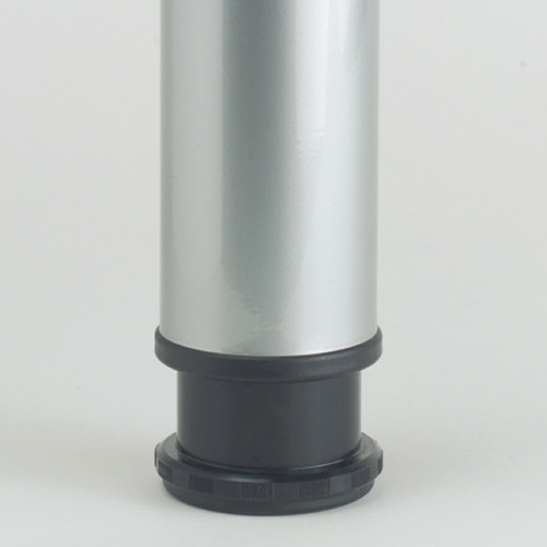 Hamburg Table Leg, 1-1/8'' adjustable foot - replacementtablelegs.com
