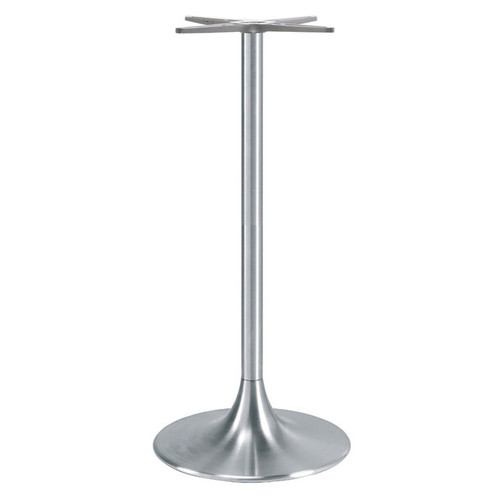 "TRUMPET TABLE BASE, Palermo Line, Aluminum, 42-1/2"" height, 20"" base spread, 2-5/8""diameter column - replacementtablelegs.com"