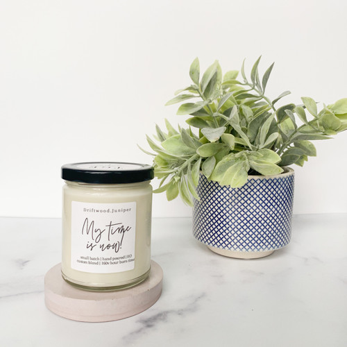 The Grace Effect cement candle holder