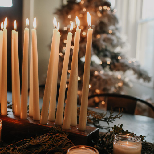 The Grace Effect , Wooden Candle holder