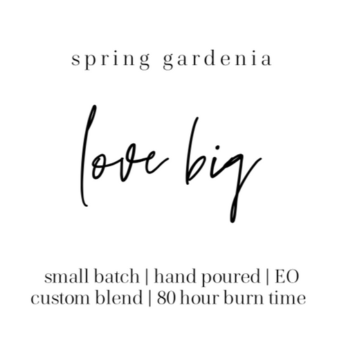 Spring gardenia love big the Grace effect