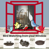 Roosting Bird Nests for your winter Birds at The Crabby Nook