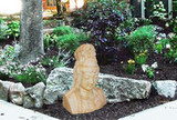 Zen Garden with Kwan Yin Statuary Decorating Ideas