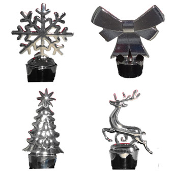 christmas wine stoppers
