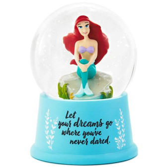 DISNEY PRINCESS LITTLE MERMAID SNOWGLOBE