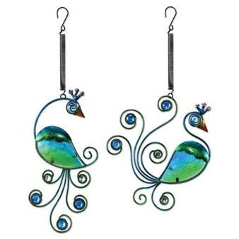 peacock bouncy sun catchers