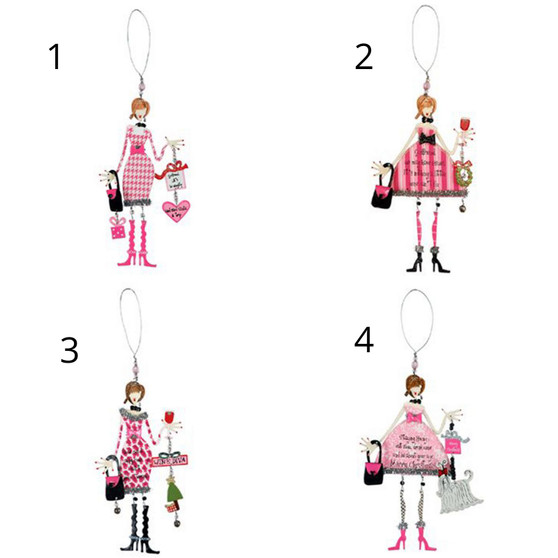best friends forever ornaments
