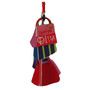 Shopping Diva Metal Hanging Ornament