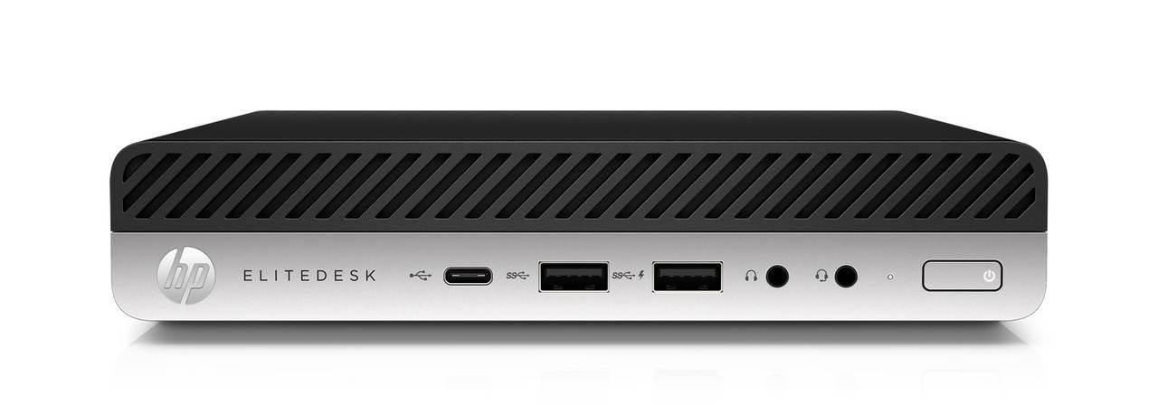 HP EliteDesk 800 G4 Dm I5-8500T 8g 256g W10p 3-3-3