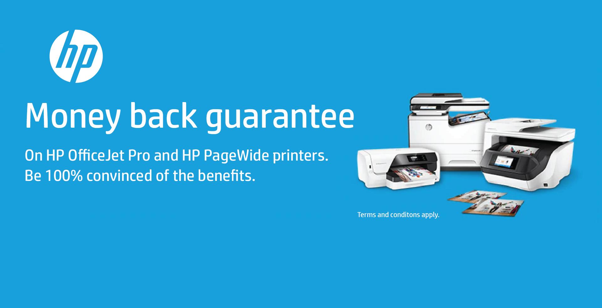 HP Money Back Guarantee